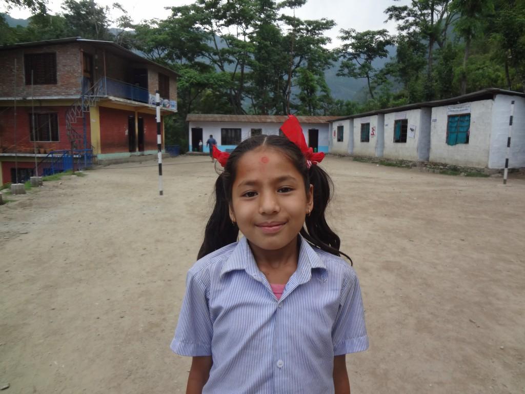 Kalpana Adhikari at School